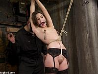 Bound and Face Fucked #5