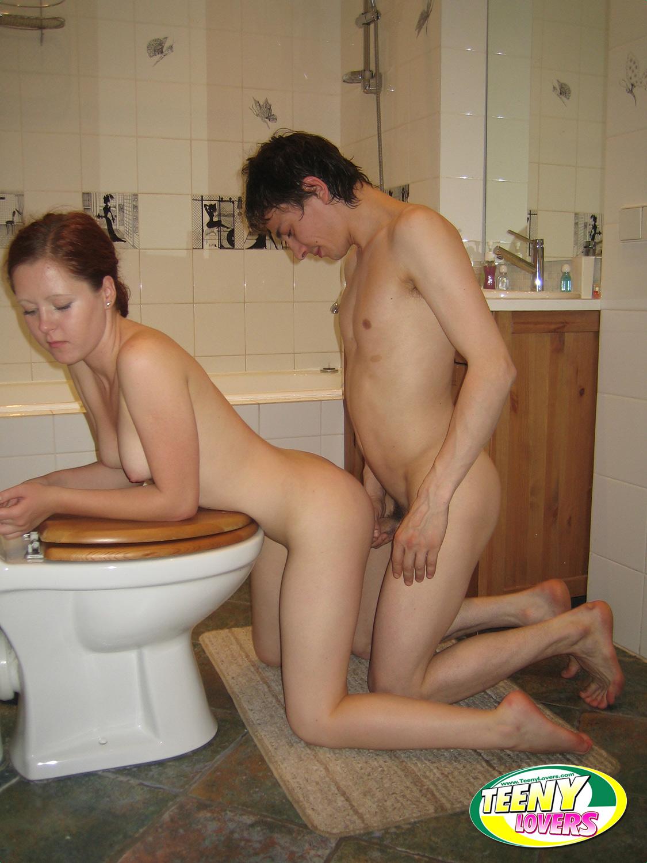 Slutty teenie is shown the hard way of anal stretching 7