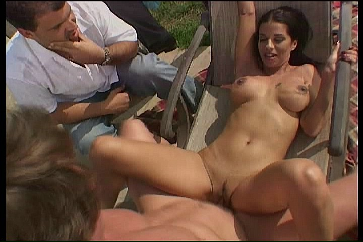 Wife With Puffy Nipples Fucking Outdoor