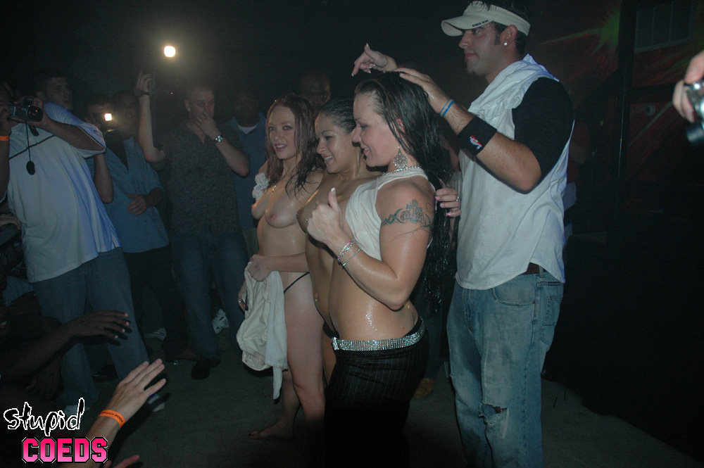 Interesting phrase coed strip contest