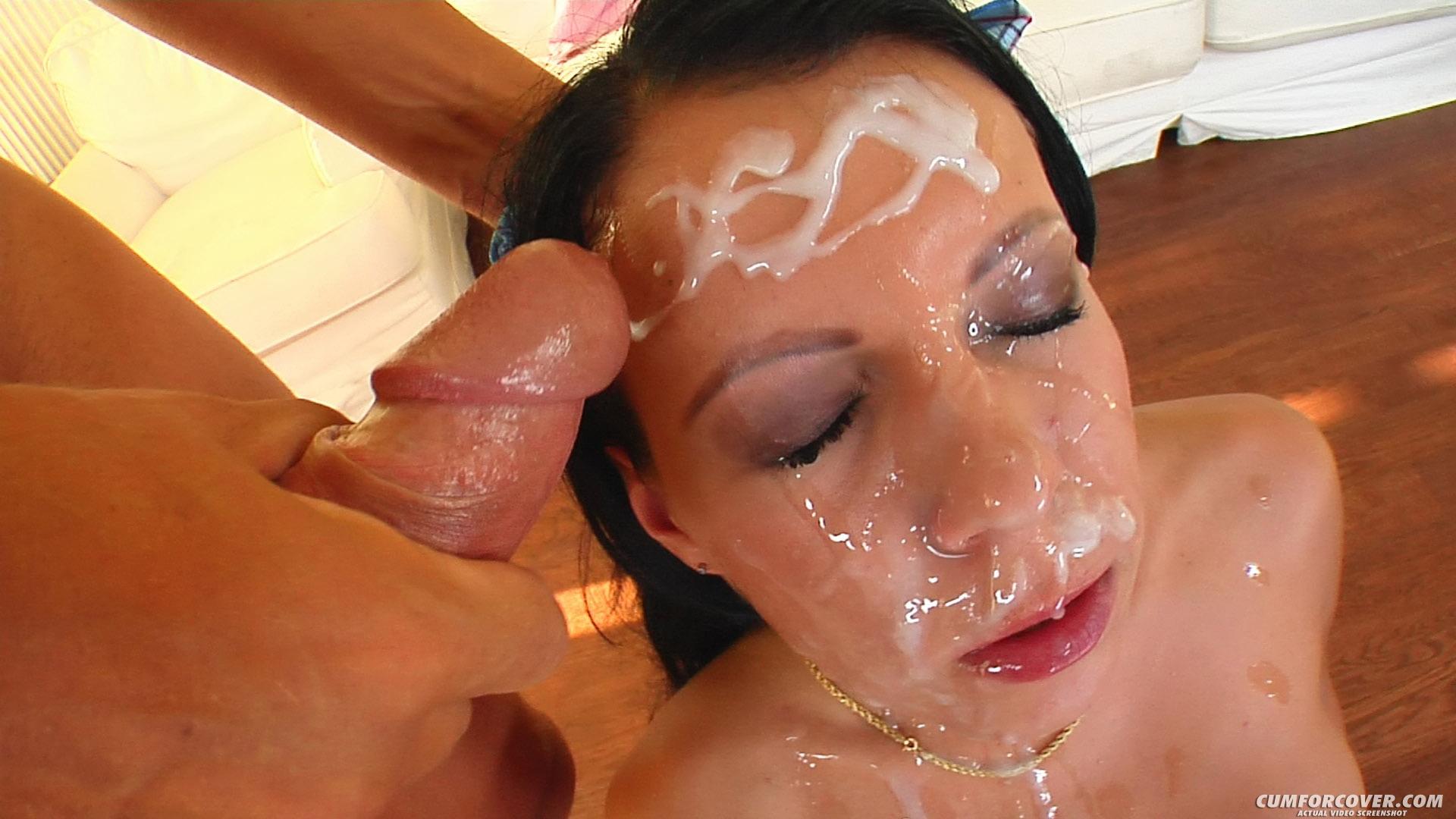 Сперма на красивом лице онлайн, камшоты: подборка и нарезка как кончают в рот, на 10 фотография